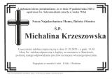 Michalina Krzeszowska