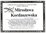 Mirosława Kordaszewska