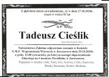 Tadeusz Cieślik