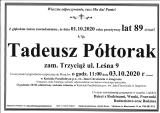 Tadeusz Półtorak