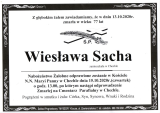 Wiesława Sacha