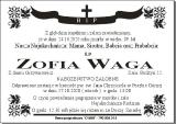 Zofia Waga
