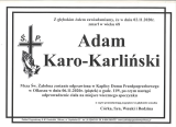 Adam Karo-Karliński