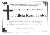 Alicja Karmiłowicz