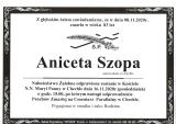 Aniceta Szopa