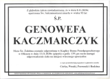 Genowefa Kaczmarczyk
