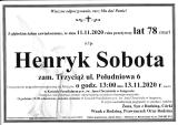 Henryk Sobota