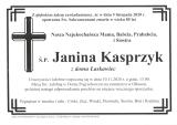 Janina Kasprzyk