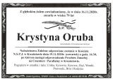 Krystyna Oruba