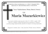 Maria Mazurkiewicz