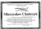 Mieczysław Chabrzyk