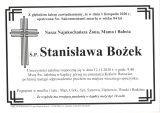 Stanisława Bożek
