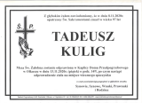 Tadeusz Kulig