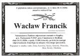 Wacław Francik