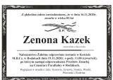 Zenona Kazek