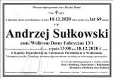 Andrzej Sułkowski