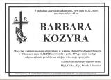 Barbara Kozyra