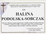 Halina Podolska-Sobczak