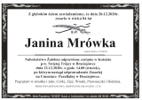 Janina Mrówka