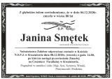 Janina Smętek