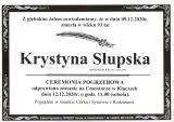 Krystyna Słupska