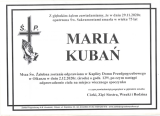 Maria Kubań