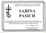Sabina Pasich