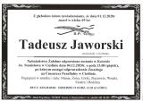 Tadeusz Jaworski