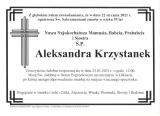 Aleksandra Krzystanek