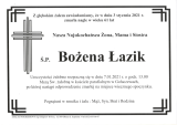 Bożena Łazik
