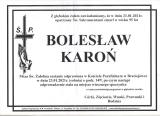Bolesław Karoń