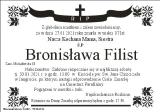 Bronisława Filist