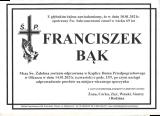 Franciszek Bąk