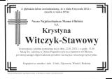 Krystyna Witczyk-Stawowy