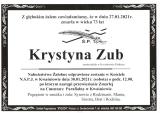Krystyna Zub