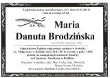 Maria Brodzińska