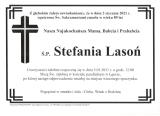 Stefania Lasoń