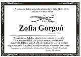 Zofia Gorgoń