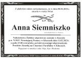 Anna Siemniszko