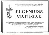Eugeniusz Matusiak