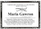 Maria Gawron