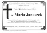Maria Januszek