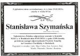 Stanisława Szymańska