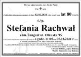 Stefania Rachwał