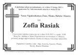 Zofia Rasiak