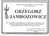 Grzegorz Jamrozowicz