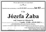 Józefa Żaba