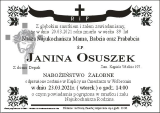 Janina Osuszek