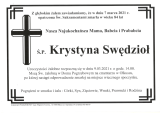 Krystyna Swędzioł