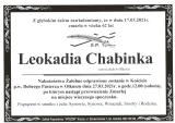 Leokadia Chabinka
